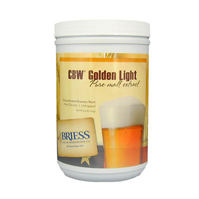 Golden Light Briess Liquid Malt Extract - 3.3 LB