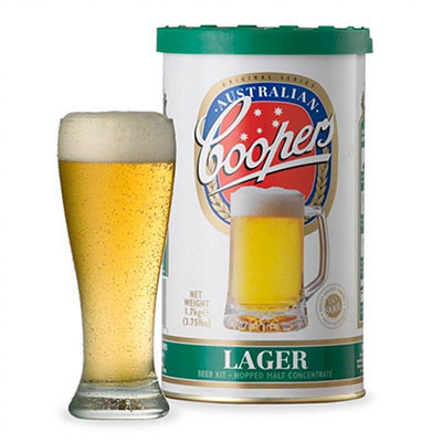 Coopers Lager Single Can