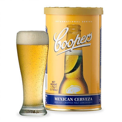 Coopers Int'l Series Mexican Cerveza Single Can