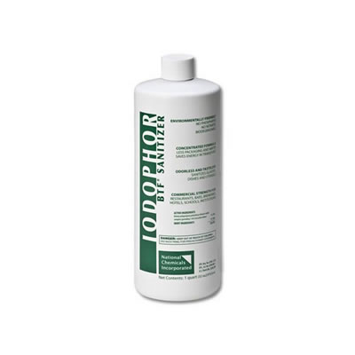 BTF Iodophor Sanitizer - 32 oz Bottle
