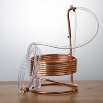 Copper Immersion Wort Chiller - 25 Feet
