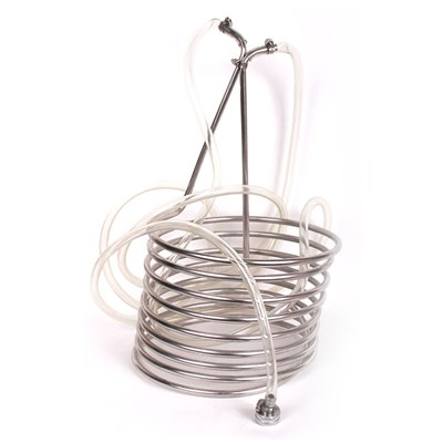 Stainless Steel Wort Chiller with Garden Hose Fitting