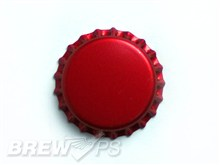Red Beer Bottle Caps (144 Count) - Home Brewing